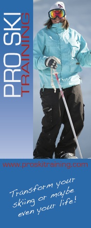 Pro Ski Training Vertical Logo (Superb value ski instructor GAP year courses)