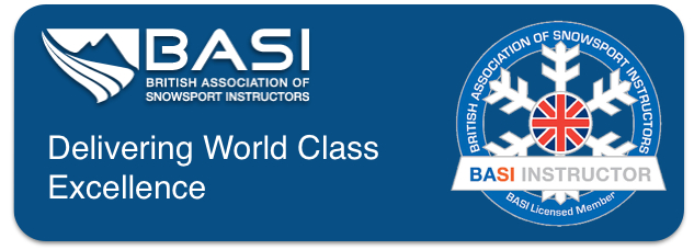 Link from Pro Ski Training to BASI British Association of Snowsport Instructors.